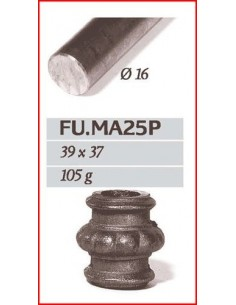 MACOLLA CENTRAL DE 16mm.