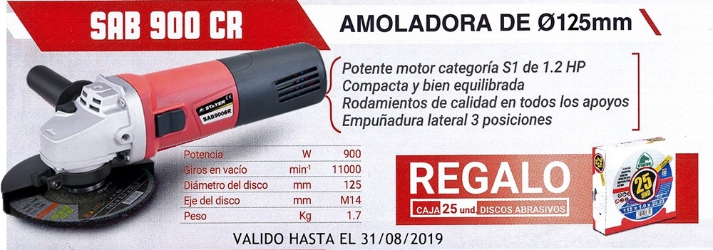 AMOLADORA ELECTRICA...