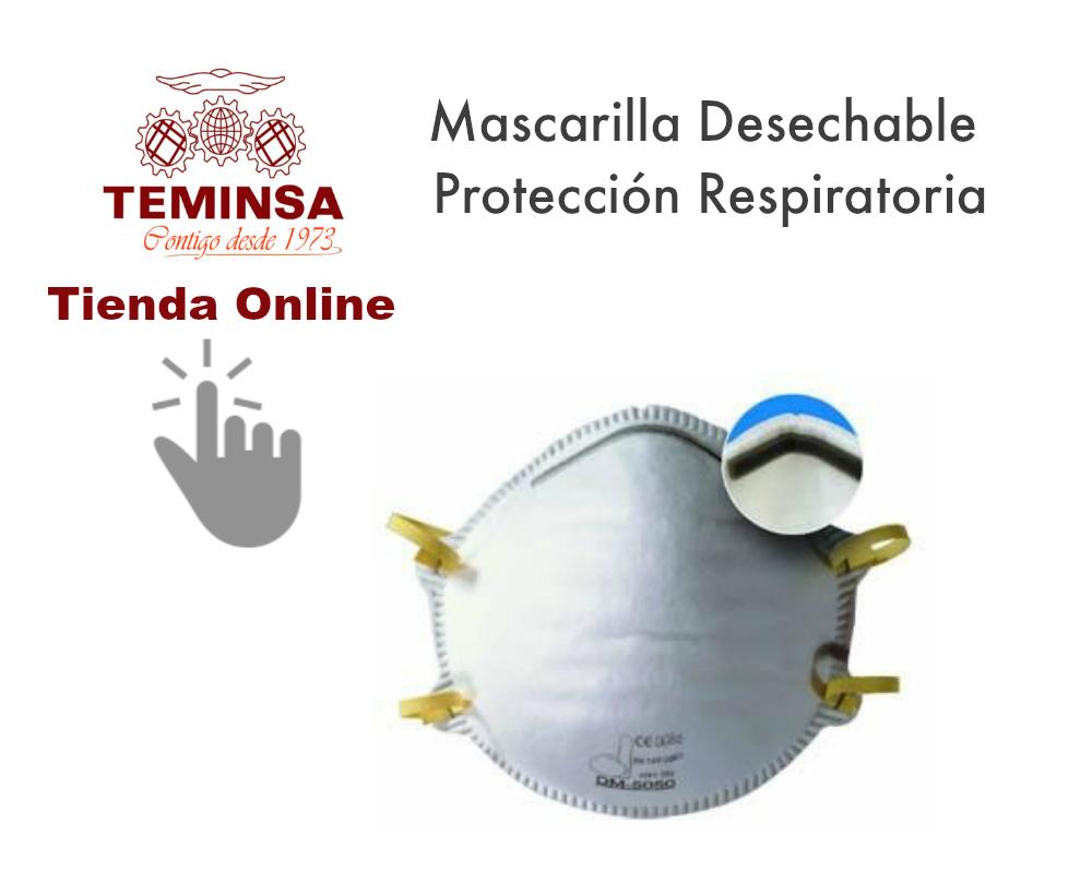 mascarilla desechable protección respiratoria teminsa tienda online