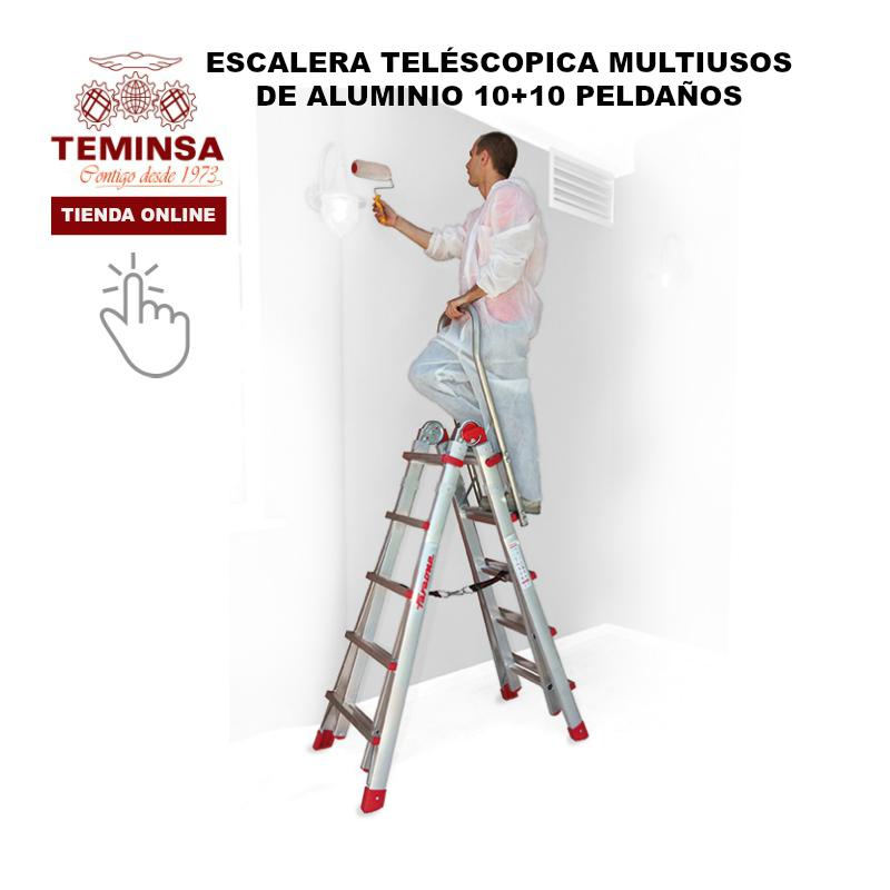 Escaleras Aluminio Teléscopica