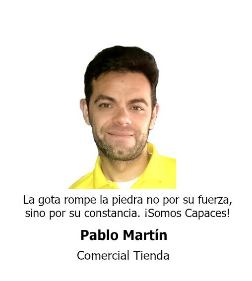 Pablo Martin Comercial Tienda Teminsa Tmi