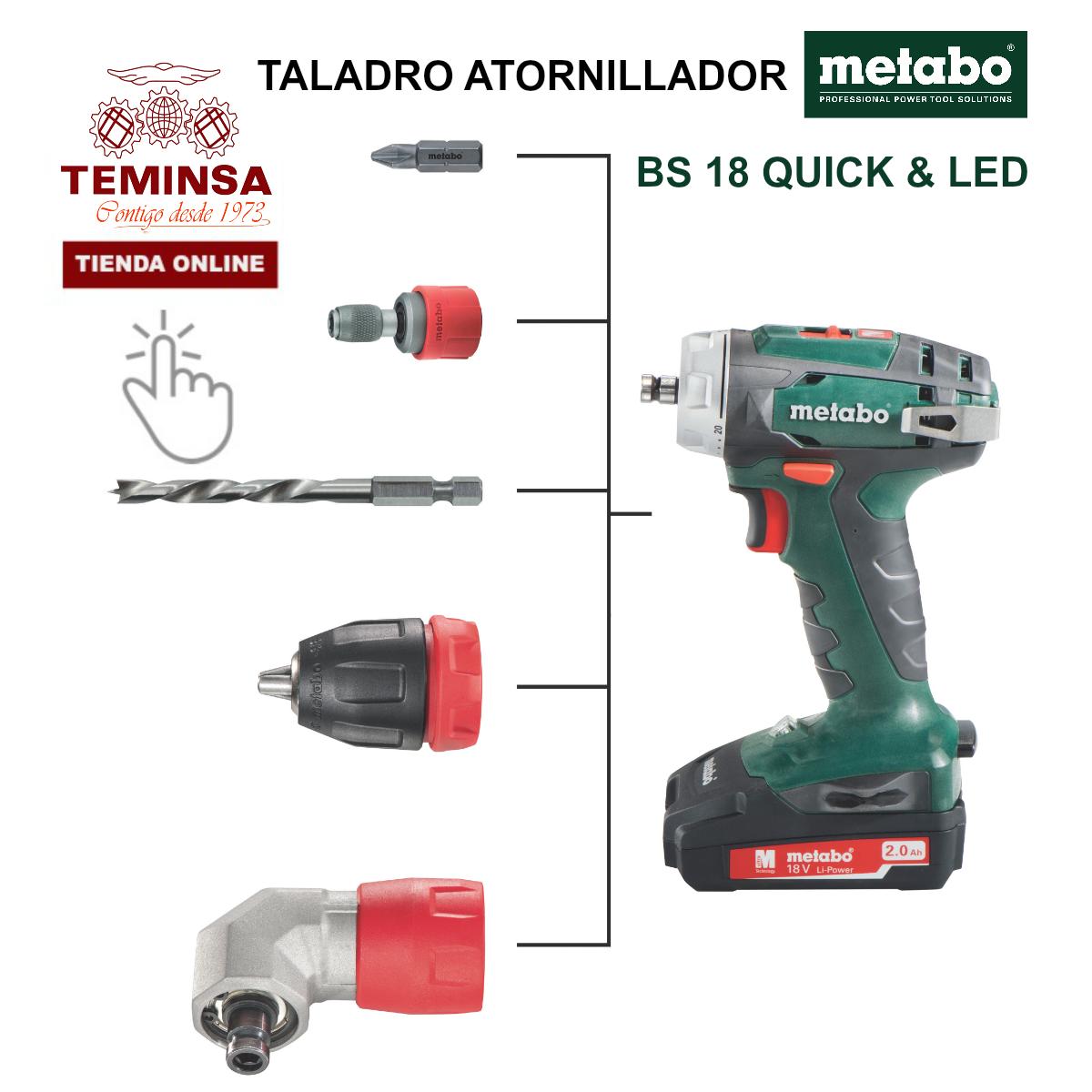 Taladro Atornillador Metabo