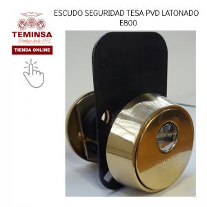 Escudo Seguridad Tesa Pvd Latonado E800 Teminsa Tienda Online
