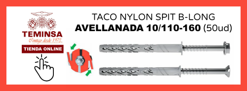 TACO NYLON SPIT B-LONG CAVELLANADA 10110-160 Teminsa Online