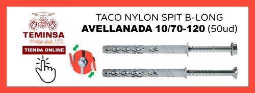 TACO NYLON SPIT B-LONG CAVELLANADA 1070-120 (50ud) Teminsa Online