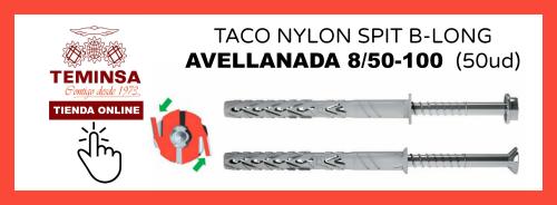 TACO NYLON SPIT B-LONG CAVELLANADA 850-100 (50ud)