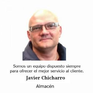 Javier Chicharro Almacén Teminsa Tmi