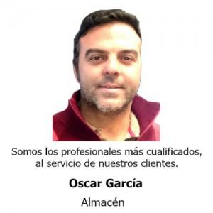 Oscar García Almacen Teminsa Tmi