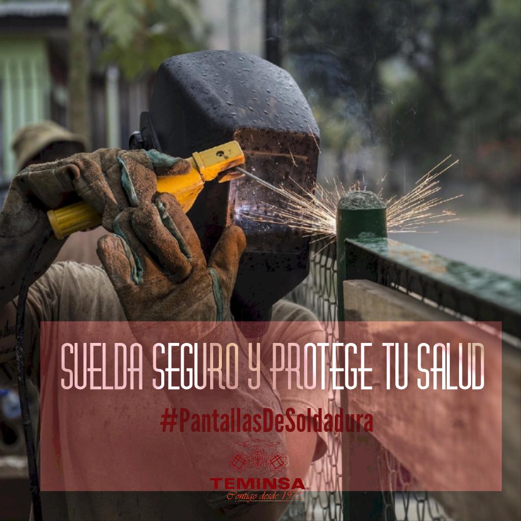 Suelda Seguro y Protege tu Salud Pantallas de Soldadura Teminsa Online