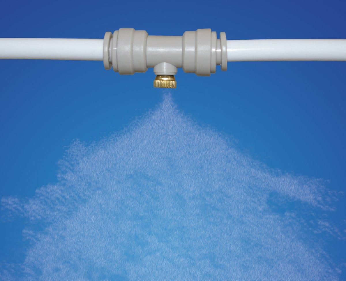 Usos de los sistemas de nebulización