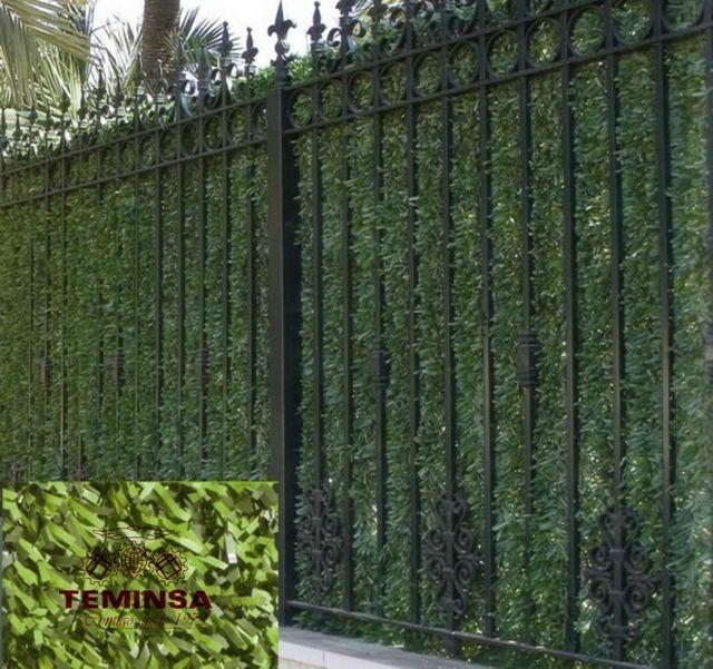 Seto artificial para preservar la intimidad en tu jardín