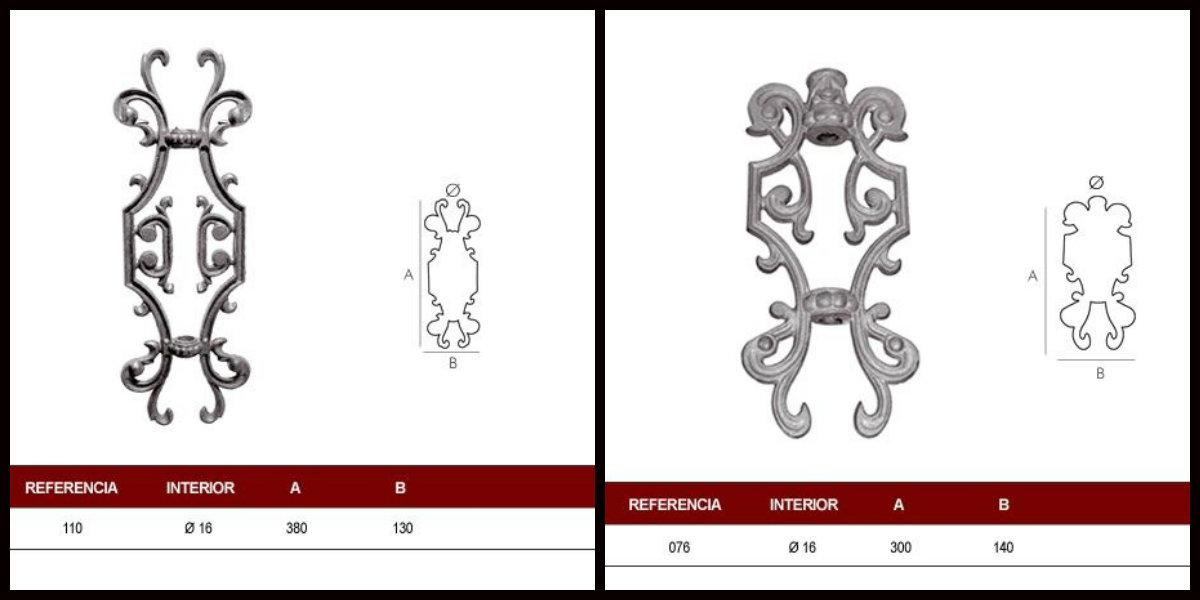 Comprar adornos de forja y fundición en Madrid