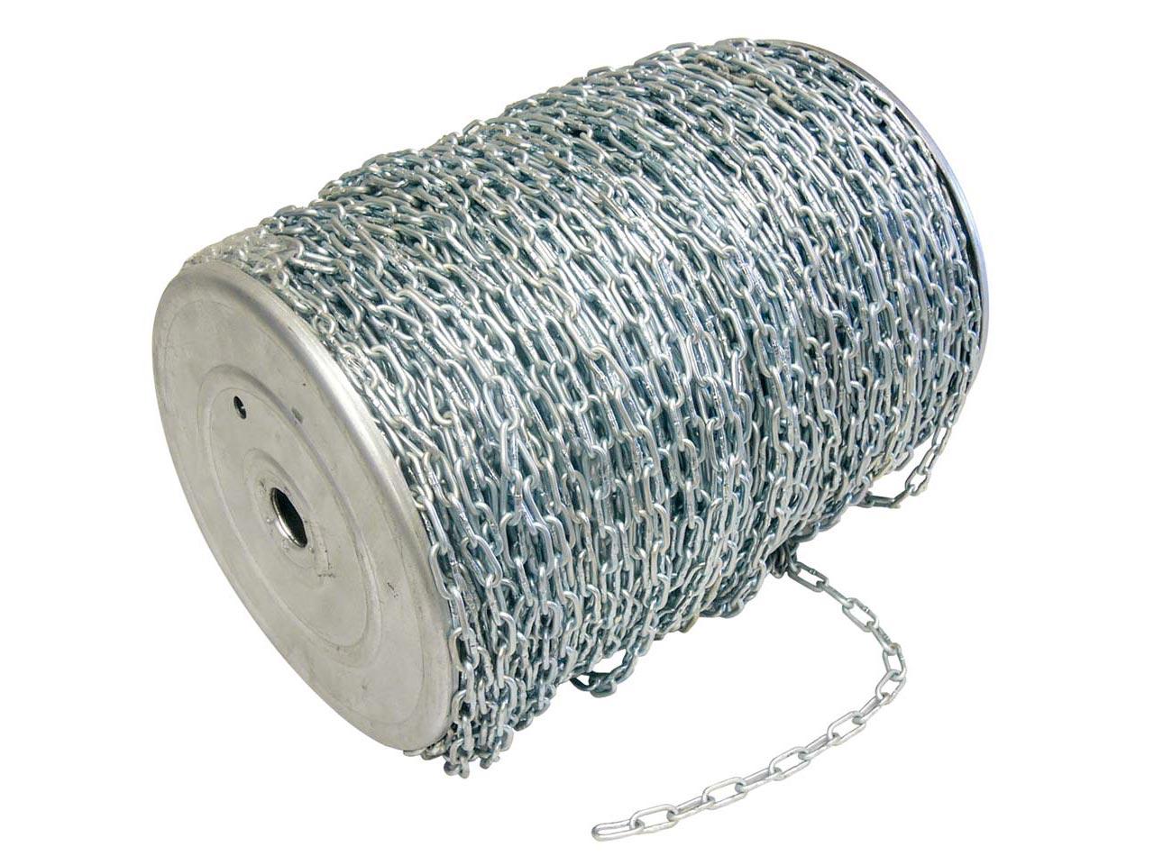 Cadenas zincadas para reforzar la seguridad