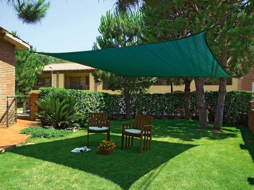 Los mejores toldos sombreados para terraza o jardín
