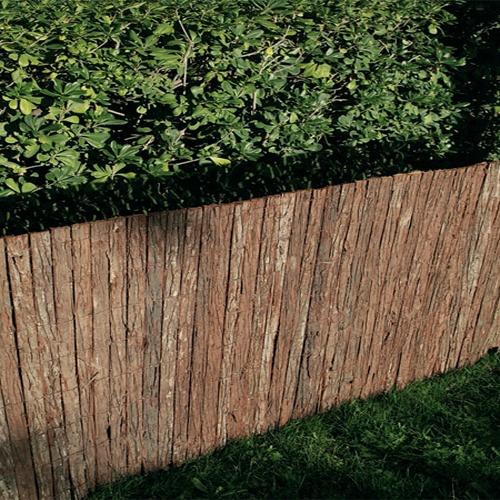Corteza de pino, sistema eficaz para ganar privacidad en tu jardín