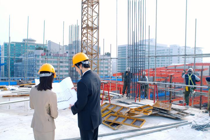 Los puntales en labores de construcción