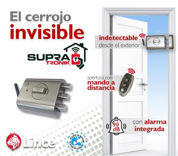 cerradura invisible electrónica