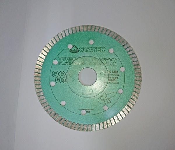 disco de diamante Ø115X22/7 para porcelanato