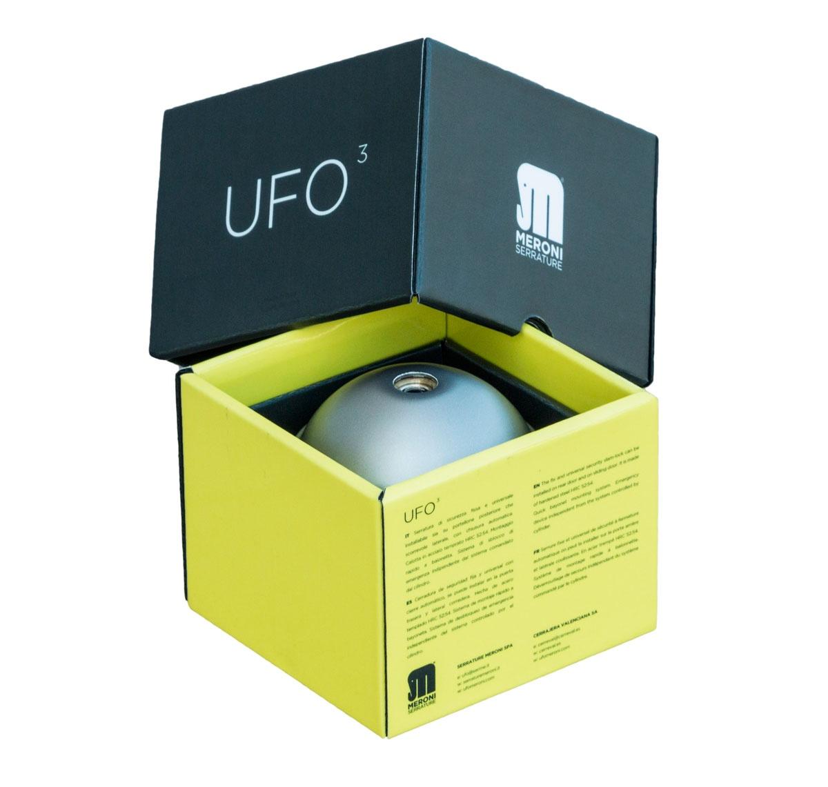 Cómo es la cerradura UFO3 Smart Duo