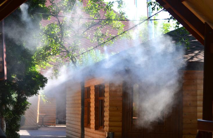 Por qué instalar nebulizadores en terrazas y jardines