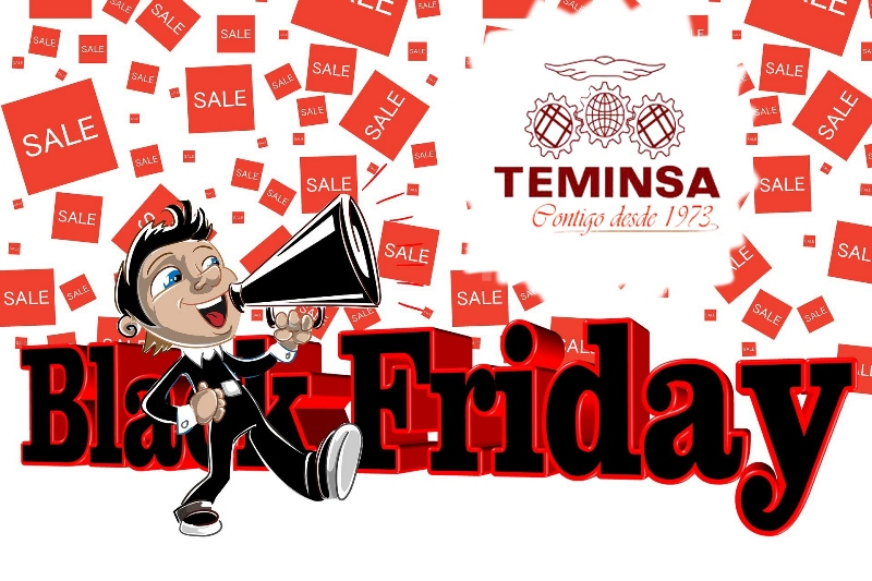 ¡Black Friday en Teminsa del 26 de noviembre al 30 incluido!