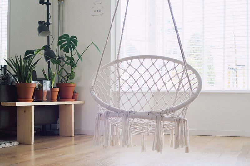 Tipos de fijación para sacos o sillas colgantes